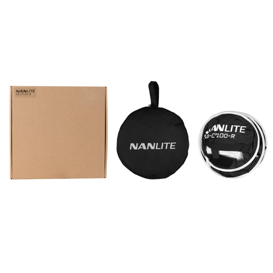 Nanlite Compac 100 and 100B Rapid-Fold Collapsible Softbox