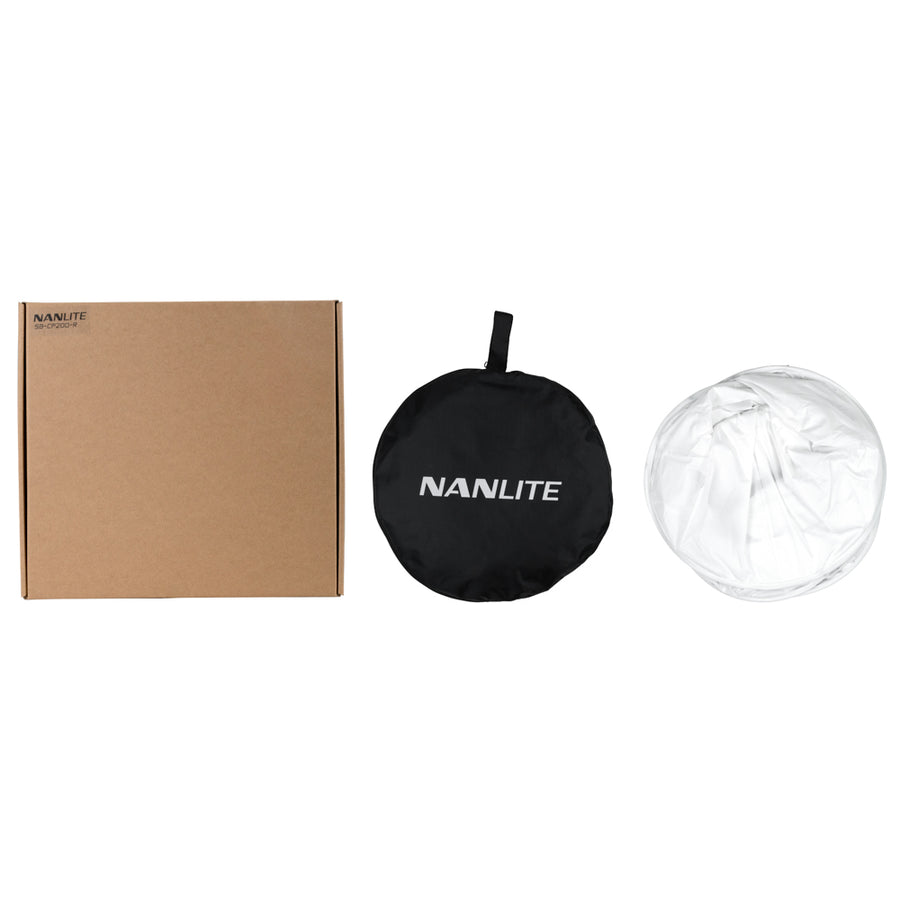 Nanlite Compac 200 and 200B Rapid-Fold Collapsible Softbox