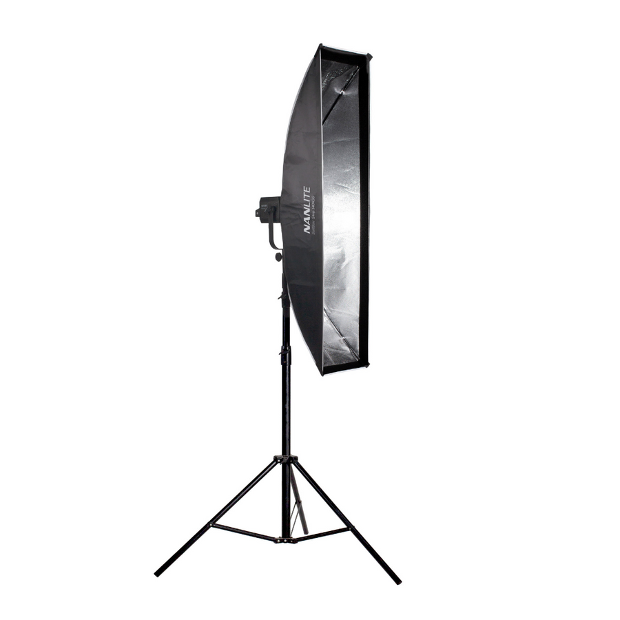 NanLite Stripbank Softbox with Bowens Mount (12x55in)