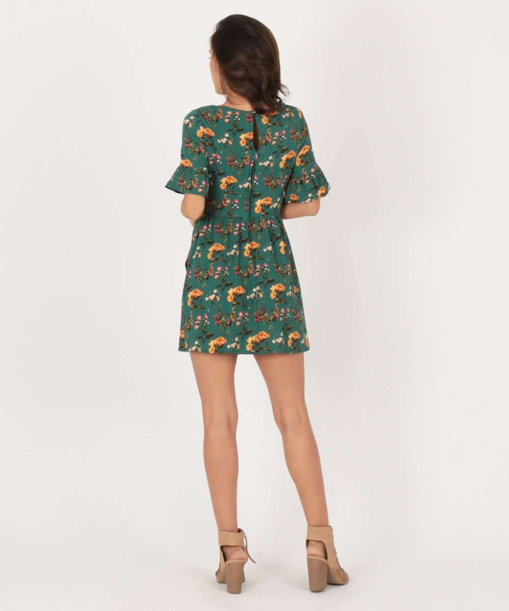 Cleo Bell Sleeve Dress-Speechless
