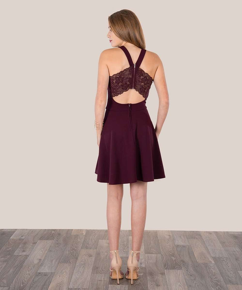 Call Me Maybe Lacey Skater Dress