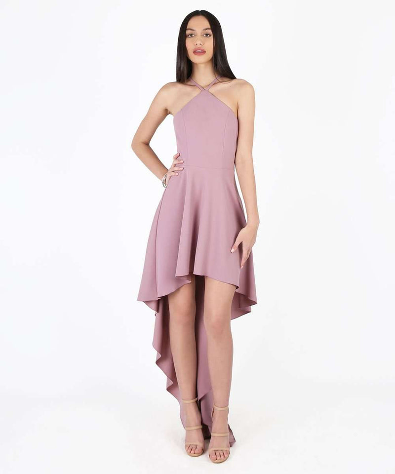 Amelia Exclusive Hi-Low Dress-Speechless