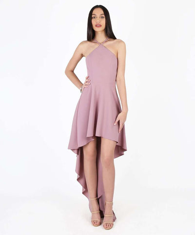 Amelia Exclusive High-Low Dress-Formal Dress-1-Rose-Speechless