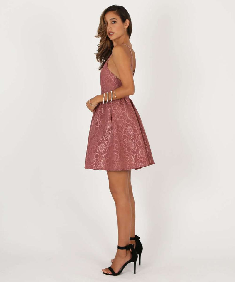 Sweetest Thing Lace Party Dress-Speechless