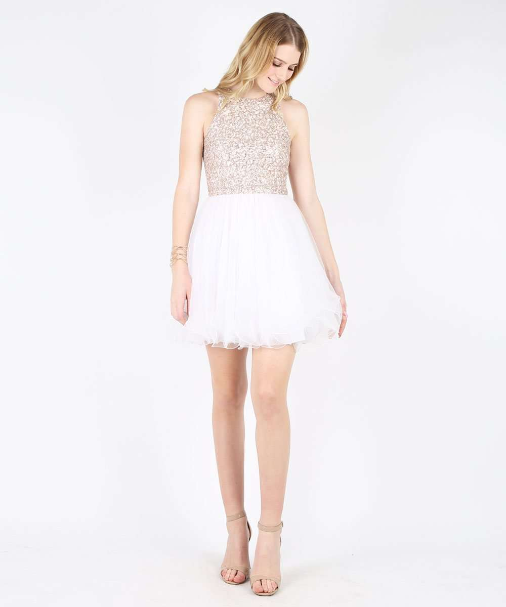 Sparks Fly Party Dress-Speechless