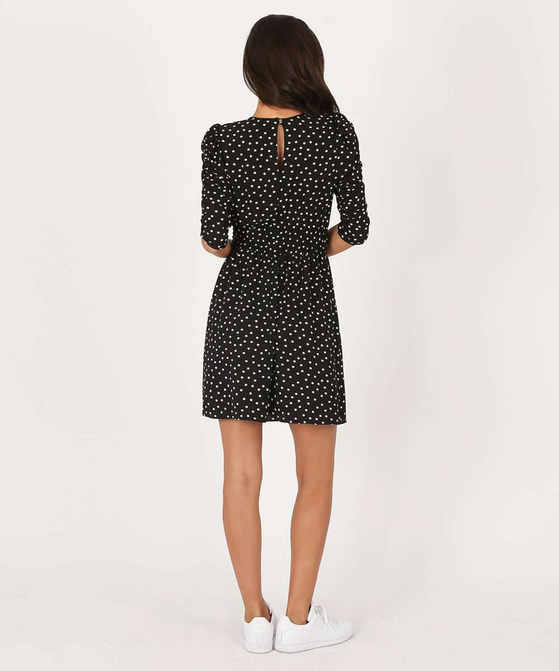 Piper Polka Dot Dress-Speechless