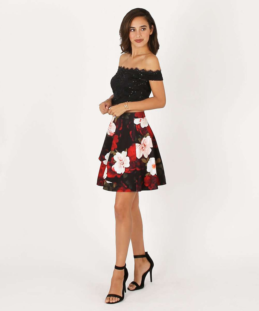 Flora Two-Piece Dress-Speechless