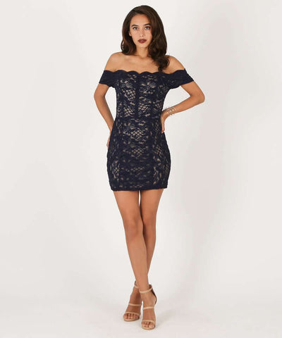 Back Out Bodycon Dress