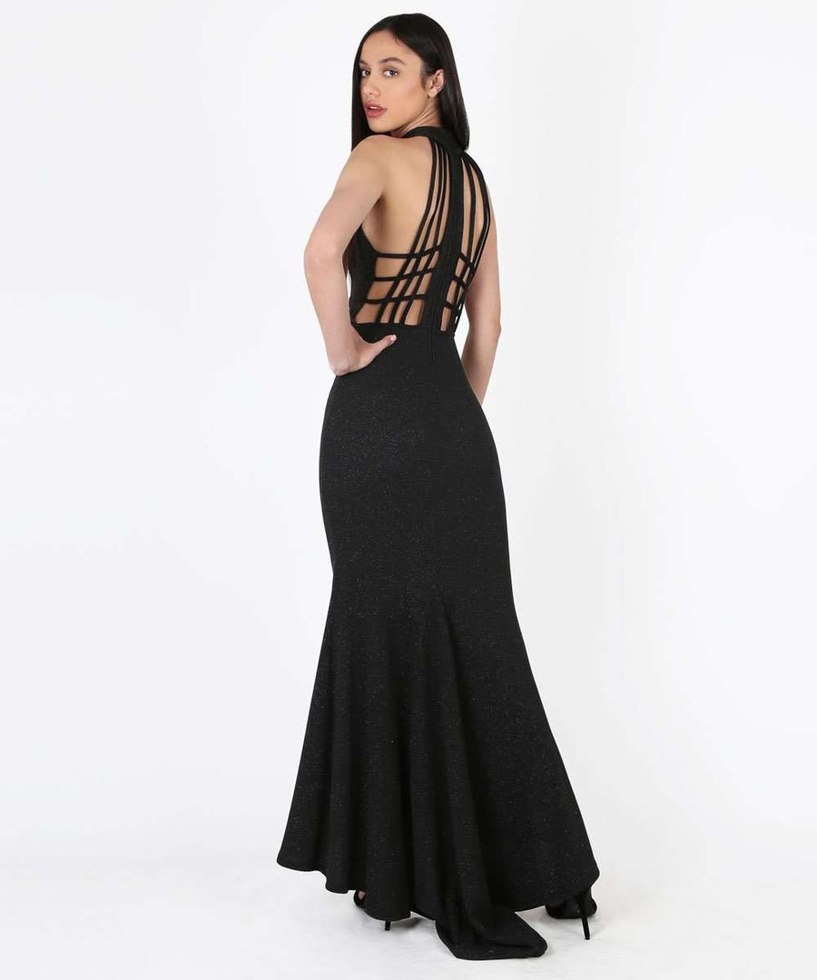 Avery Exclusive Strappy Back Dress-Speechless