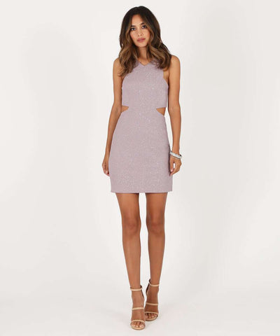 Violet Bubble Dress