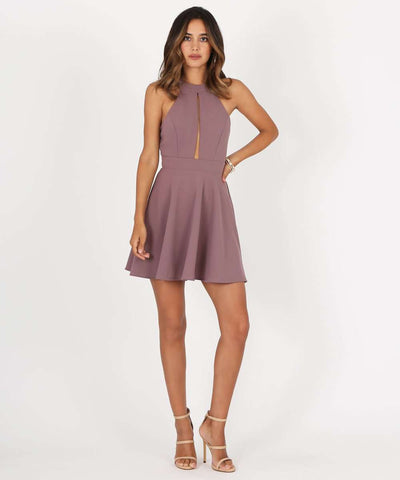 Remember Me Illusion Two-Piece Dress