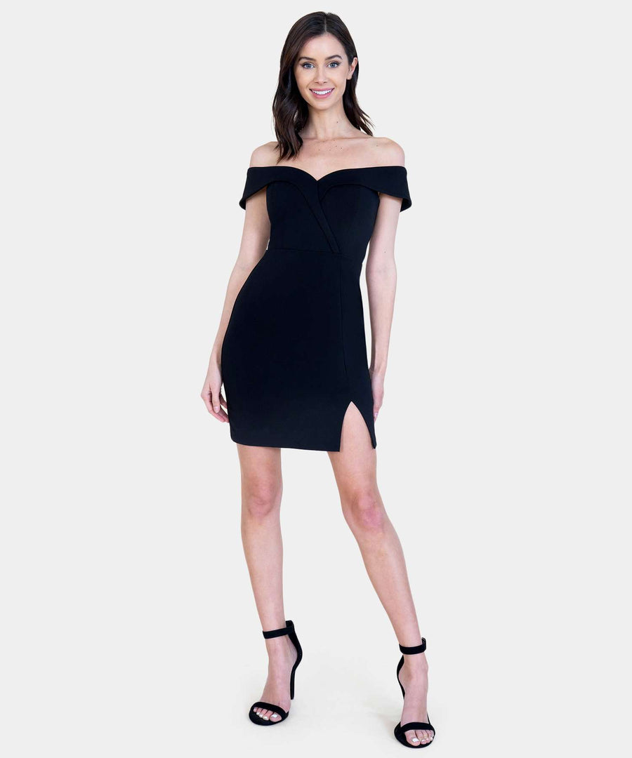 Bella Sweetheart Mini Dress-Dressy Dresses-Speechless