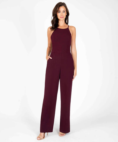 Henley Lace Back Jumpsuit - Image 2
