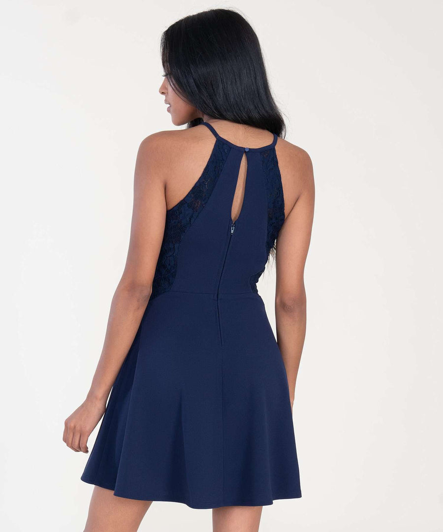 Out And About Skater Dress-Dressy Dresses-Speechless