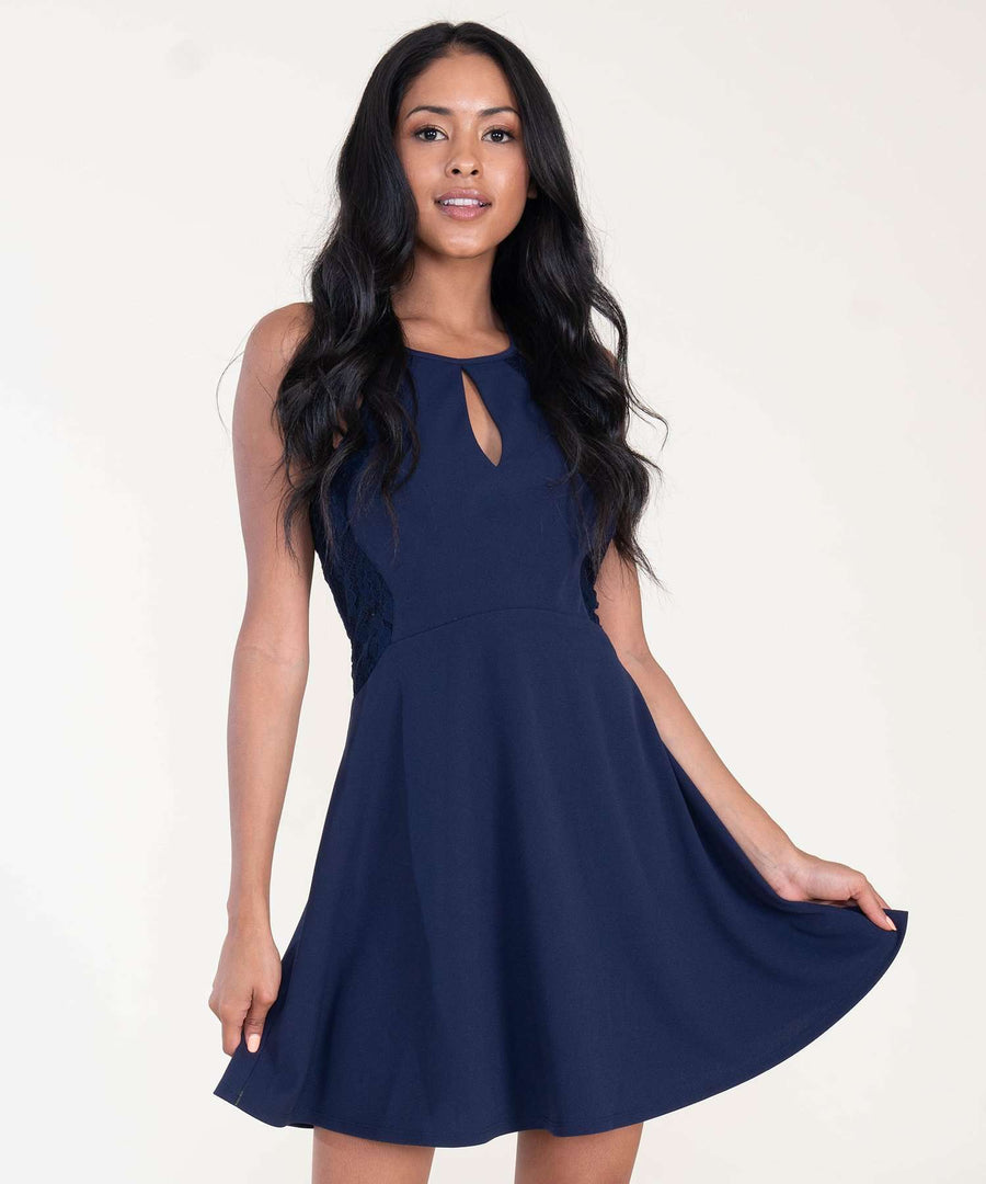 Out And About Skater Dress-Dressy Dresses-0-Midnight-Speechless