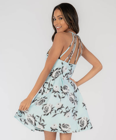 Oh So Sweet Strappy Back Dress - Image 2