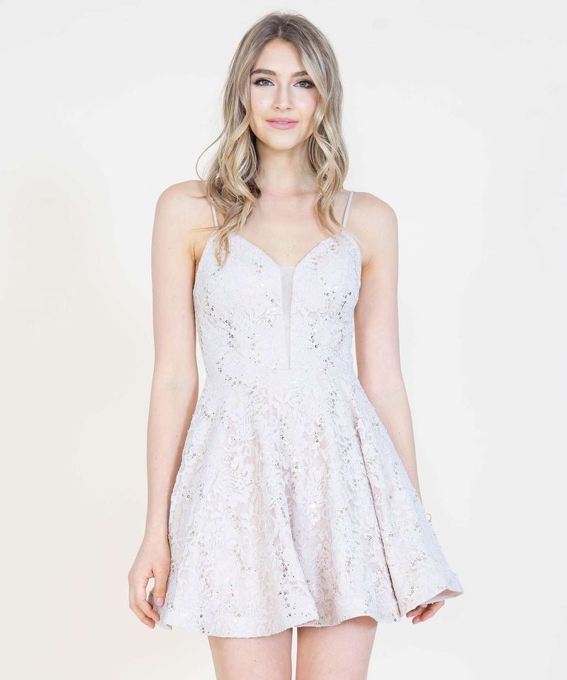 Falling For You Party Dress-Speechless