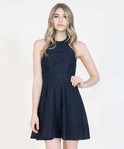 Twist And Shout Skater Dress