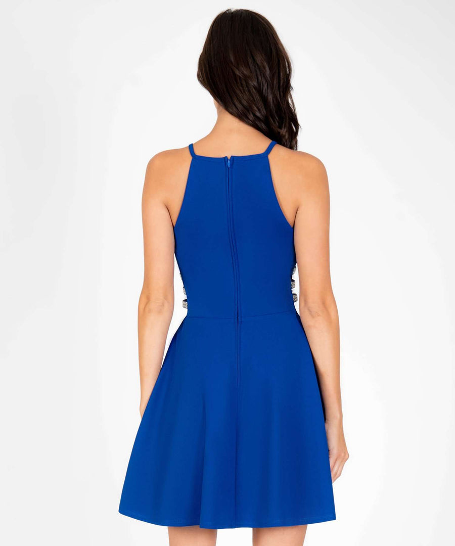 Moonstruck Skater Dress-Dressy Dresses-Speechless.com
