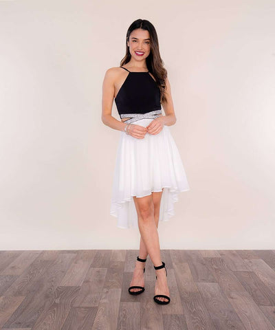 Skye Scallop Skater Dress