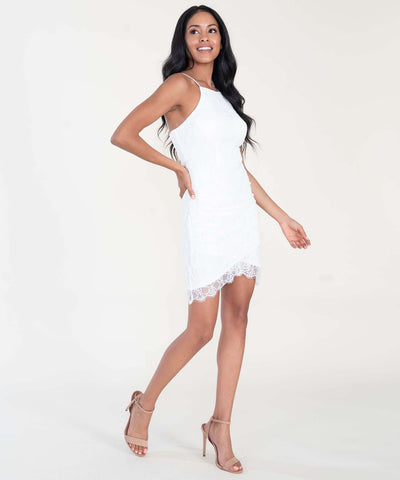 Paige Lace Slim Dress - Image 2