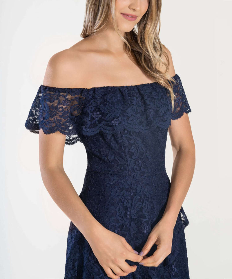 Midnight Dreamer Lace Dress-Speechless