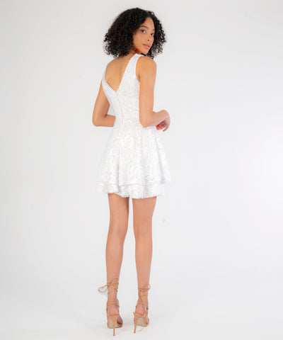 Charlotte Layered Lace Dress - Image 2