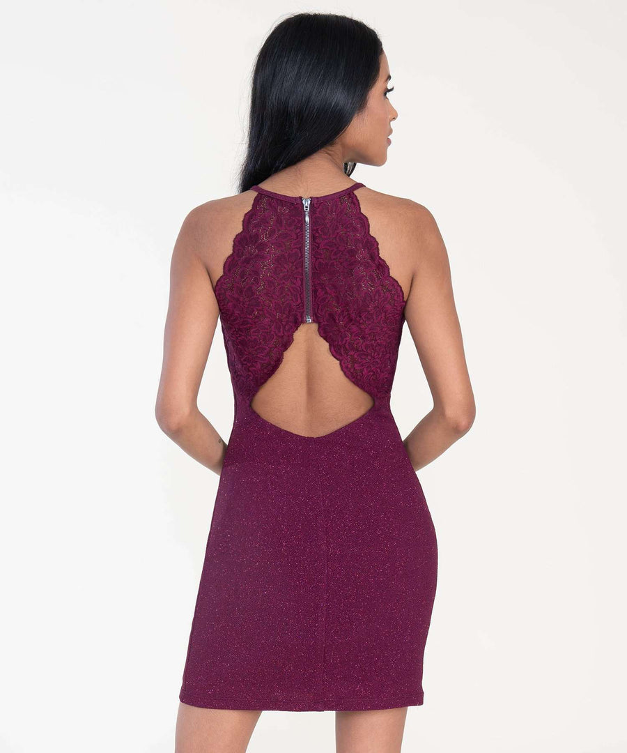 All That Glitters Bodycon Dress-Speechless