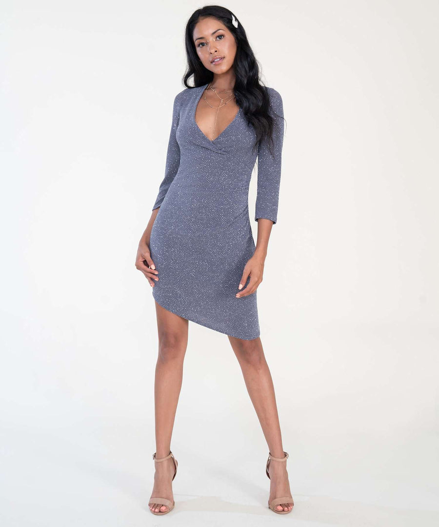 Arielle Bodycon Dress-Dressy Dresses-Speechless