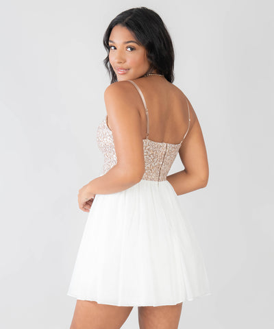 Falling For You Party Dress - Image 2