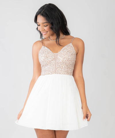 Falling For You Party Dress