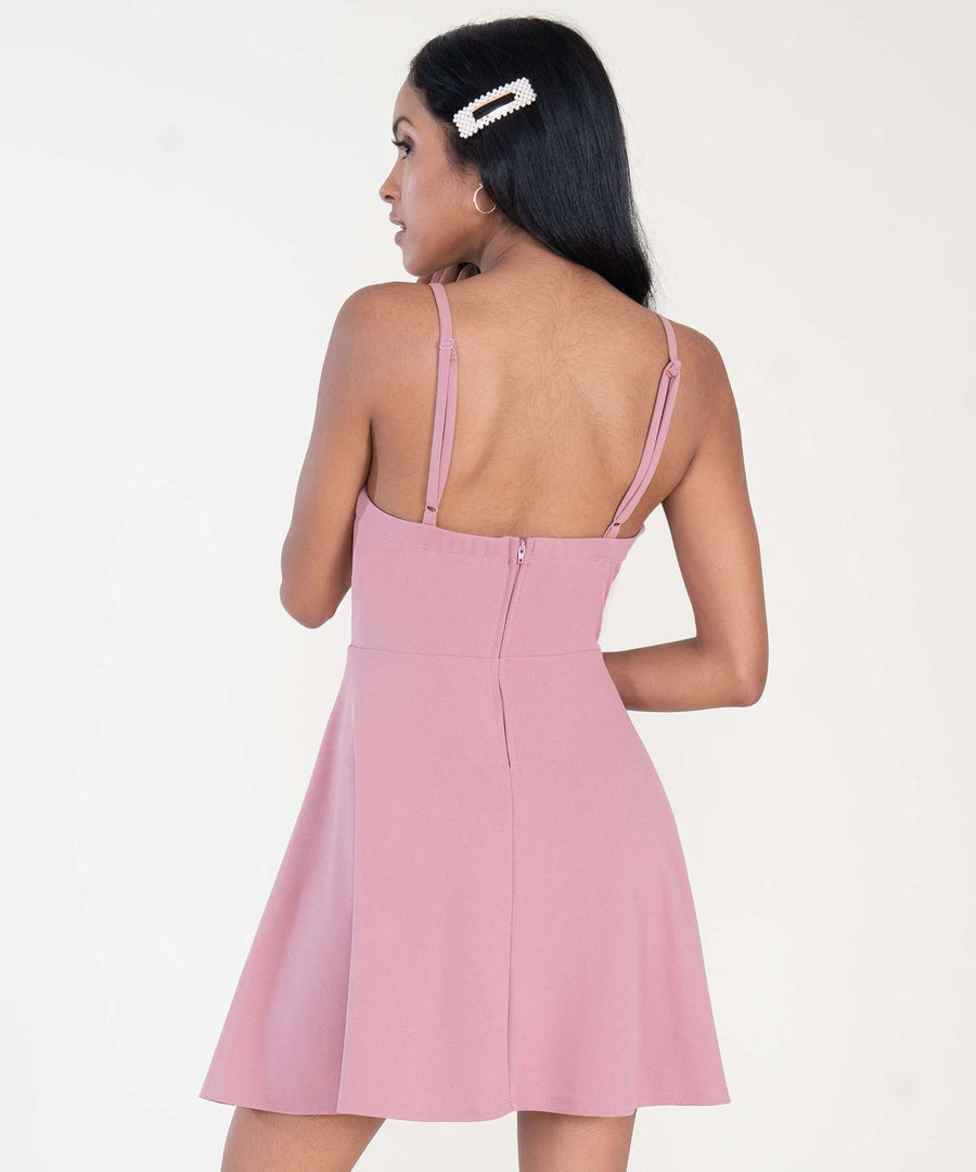 Back To Basics Exclusive Skater Dress-Dressy Dresses-Speechless