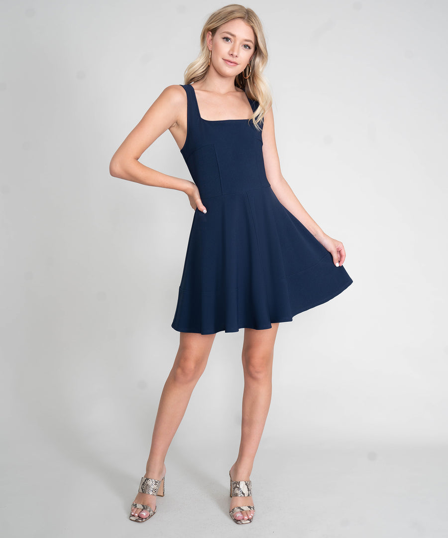 Savi Exclusive Skater Dress-Dressy Dresses-Speechless