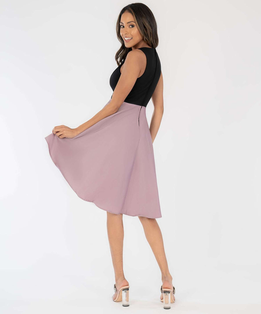 Lisa Scallop High-Low Dress-Dressy Dresses-Speechless.com