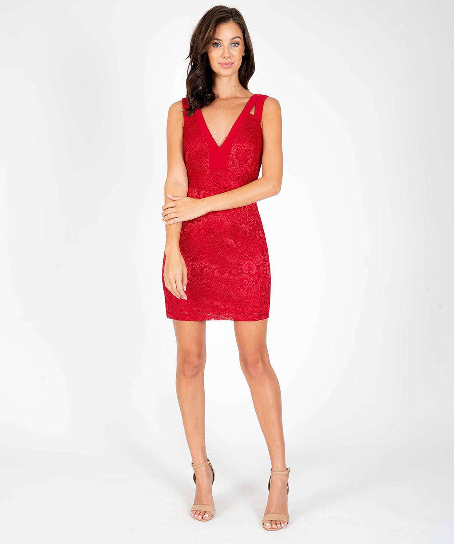 Bring The Heat Slim Dress-New-Speechless.com