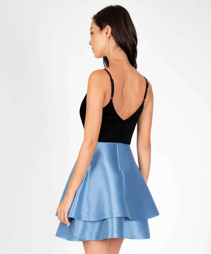 Falling For You Layered Party Dress-Dressy Dresses-Speechless.com