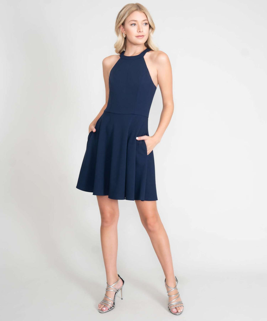 Reese Exclusive Skater Dress-Dressy Dresses-Speechless
