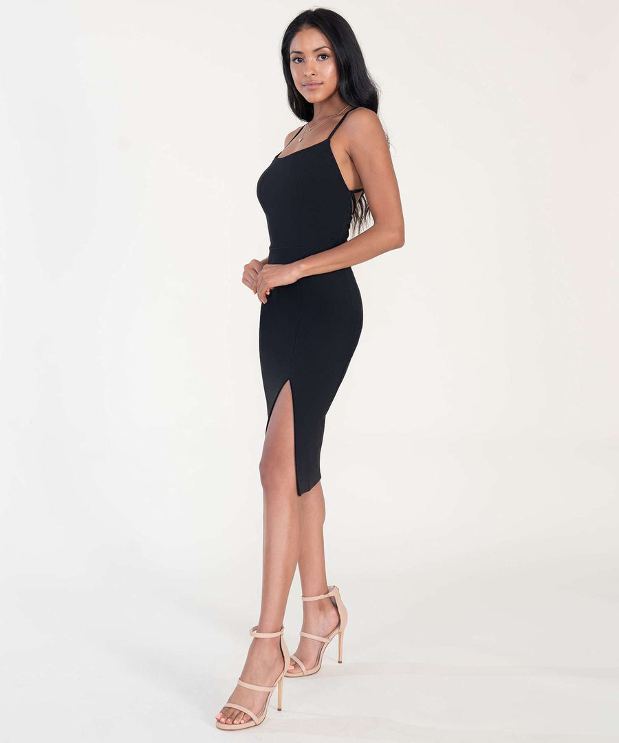 Jordan Exclusive Midi Dress-Dressy Dresses-Speechless