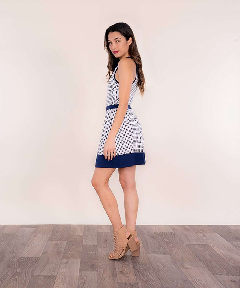 Maya Elastic Waist Dress-Speechless