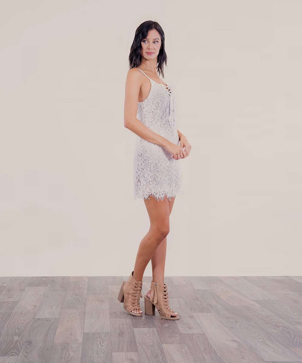 All About That Lace Slim Dress