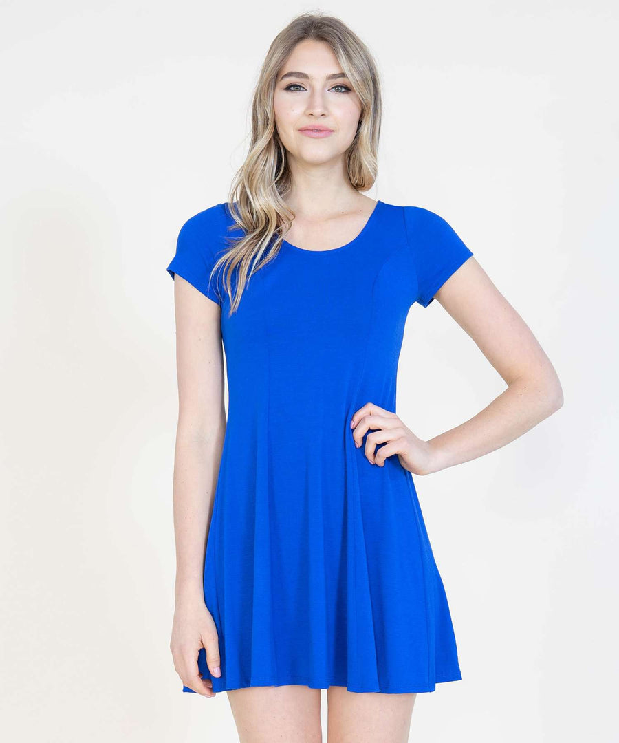 Simple Things Knit Dress-Casual Dresses-Speechless