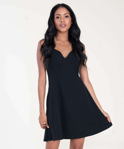 Some Like It Hot Skater Dress-Dressy Dresses-XX SMALL-Black-Speechless