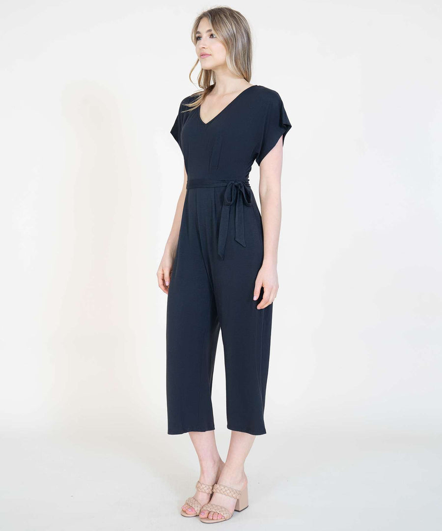 Everyday Knit Jumpsuit-Speechless
