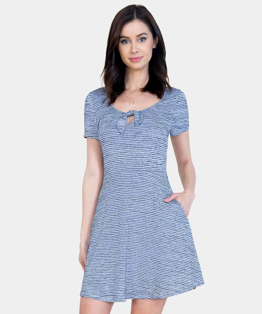 Parisian Girl Skater Dress-Casual Dresses-Speechless