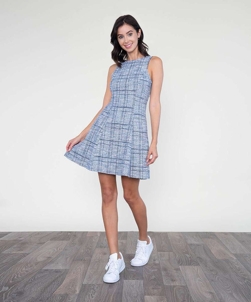 Skyler Fit And Flare Dress-Speechless