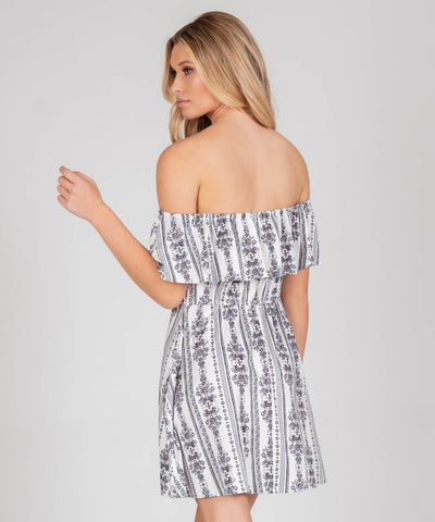 Presley Printed Button Front Dress - Image 2