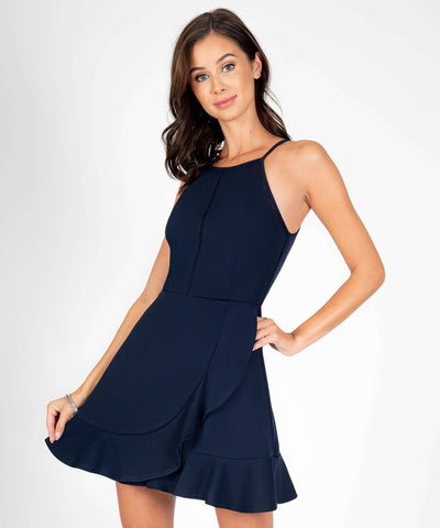 Sure Thing Ruffle Skater Dress - Image 2
