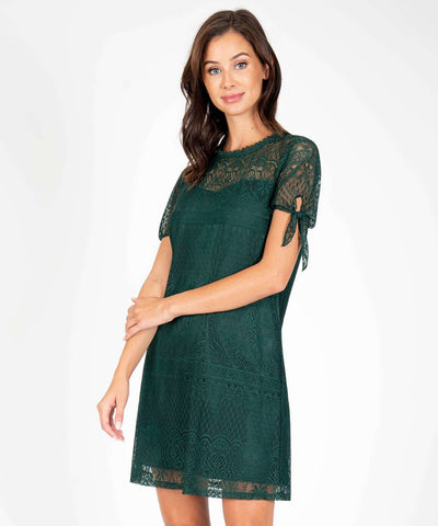 Jane Tie Sleeve Shift Dress - Image 2