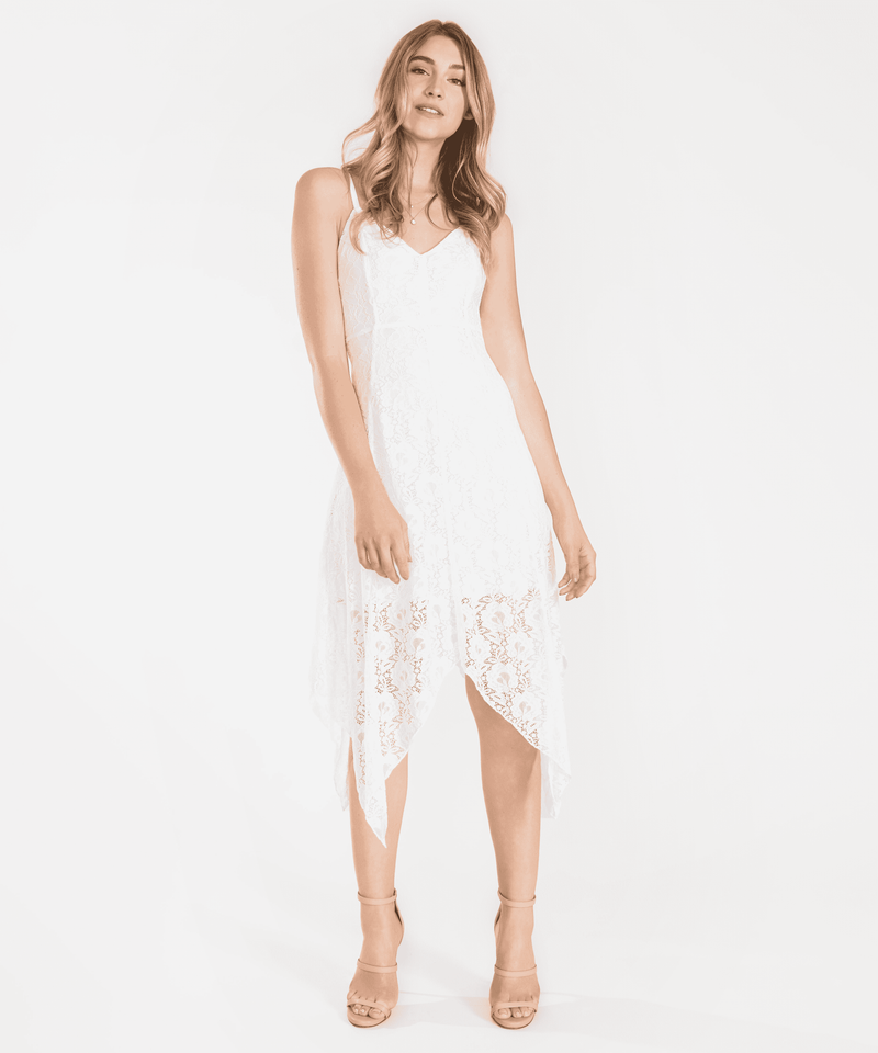 Elyse Lace Midi Dress-Speechless