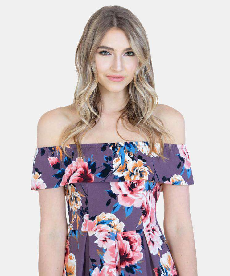 Maude Off The Shoulder Dress-Casual Dresses-Speechless